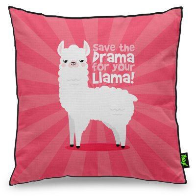 Almofada Save The Drama For Your Llama