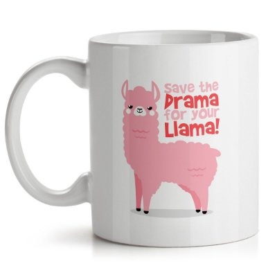 Caneca Save The Drama For Your Llama