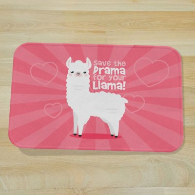Tapete Fofo Save The Drama For Your Llama