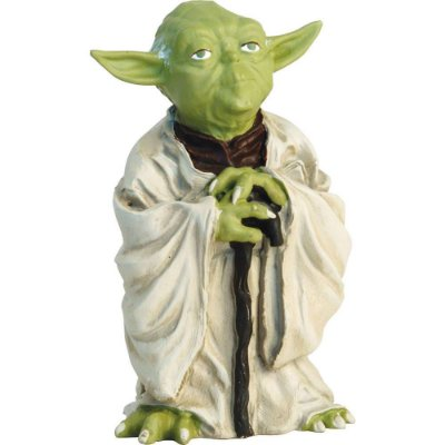 Mestre Yoda Bring You Wisdom, I Will - Livro + Action Figure