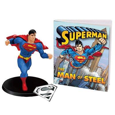 Superman - Livro + Action Figure