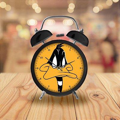 Relógio Despertador de Mesa Looney Tunes Patolino