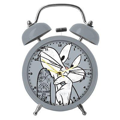 Relógio Despertador de Mesa Looney Tunes Pernalonga