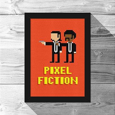 Quadro A4 Pixel Fiction - 21 x 30 cm