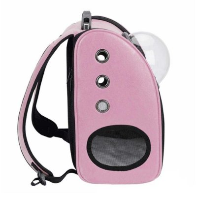 Mochila Astronauta para Pets - rosa