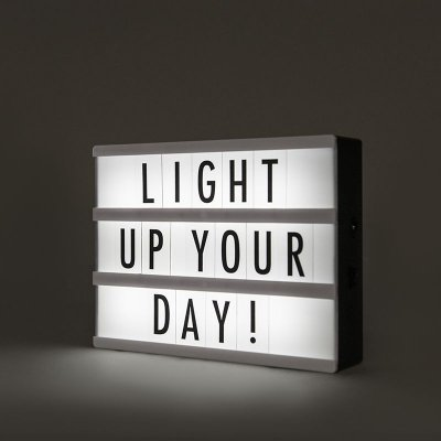 Letreiro Luminoso LightBox LED