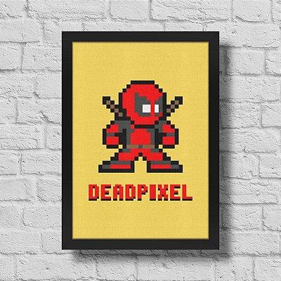 Quadro A3 Dead Pixel - 30 x 42 cm