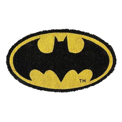 Capacho em fibra de coco Batman Logo