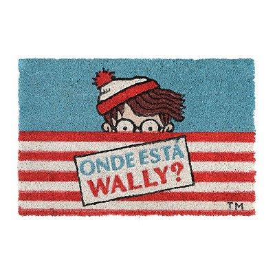 Capacho em fibra de coco Onde Está Wally?