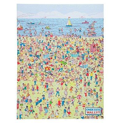 Tela Onde está Wally? - 30 x 40 cm