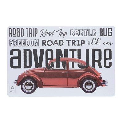 Jogo Americano retrô Volkswagen Beetle Fusca
