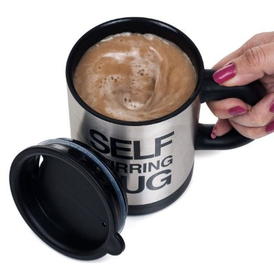 Caneca Self Stirring Mug Mexedor Automático