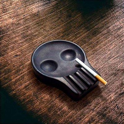 Cinzeiro Skull Head Caveira em Silicone