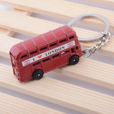 Chaveiro Ônibus Londres Dois Andares