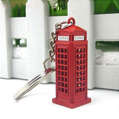 Chaveiro Londres Cabine Telefônica