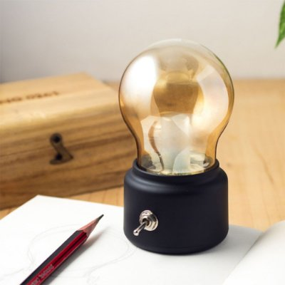 Luminária Lâmpada Decorativa Recarregável via USB