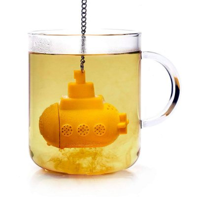 Infusor de Chá Yellow Submarine - submarino amarelo