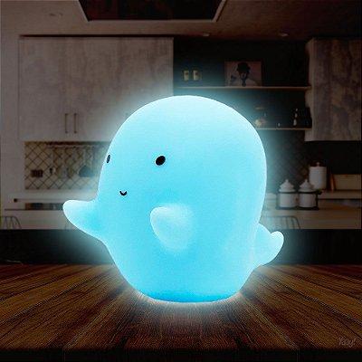 Luminária sem fio Fantasminha Ghost Fantasma Camarada