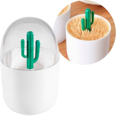 Porta Palito de Dentes Cactus