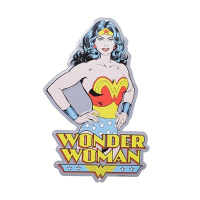 Placa de Metal Decorativa DC Comics Wonder Woman Body