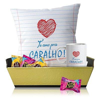 Kit de Amor Te Amo pra Caralho