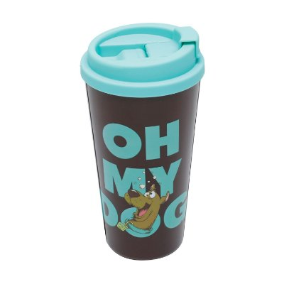 Copo plástico Grab and Go Scooby Doo Oh My Dog - 500ml