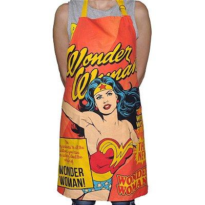 Avental em algodão DC Comics Wonder Woman cover page