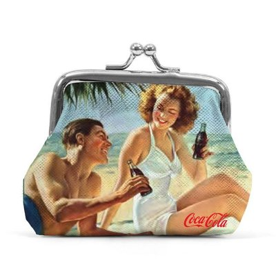 Porta Moedas  Coca-Cola Man and Woman