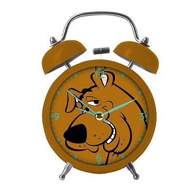 Relógio de mesa Despertador Scooby-Doo face