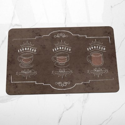 Tapete de Cozinha Café Expresso