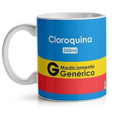 Caneca DrPepper Cloroquina