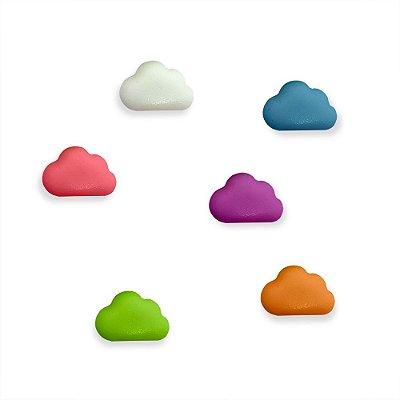 Imãs decorativos Nuvem Note On The Cloud - 6 peças