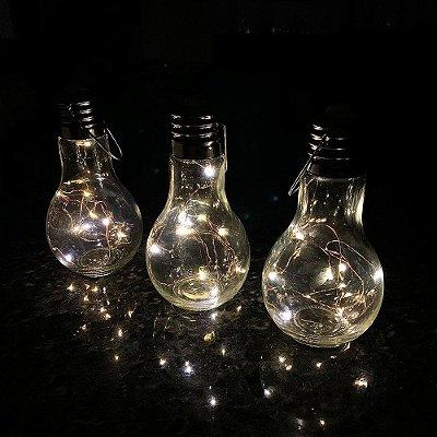 Luminária Lâmpada decorativa Fio de Fada LED