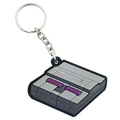Chaveiro Gamer Console 16-bits