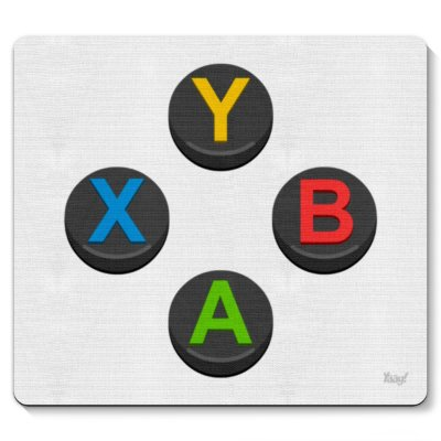 Mouse pad Gamer ABYX PC e Caixista