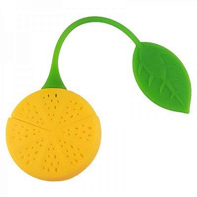 Infusor de Chá Limão em silicone
