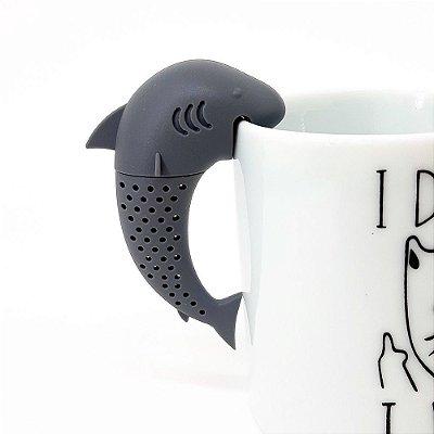 Infusor de Chá Tubarão - silicone