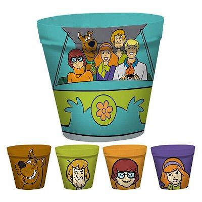 Kit Potes para Pipoca Scooby-Doo original - 5 peças