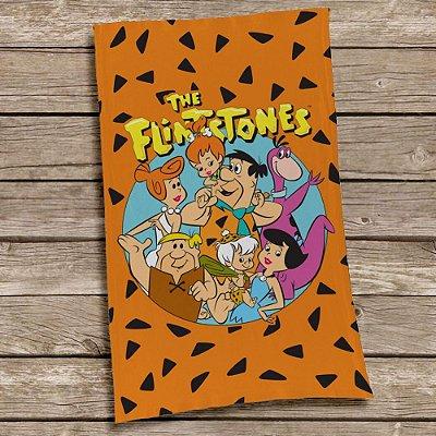 Pano de Prato em algodão Os  Flintstones