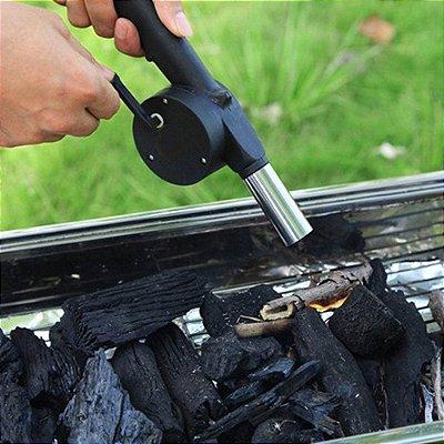Acendedor de Churrasqueira Lareira manual Aço Inox