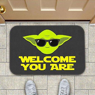 Tapete Welcome You Are ET Alien Minioda