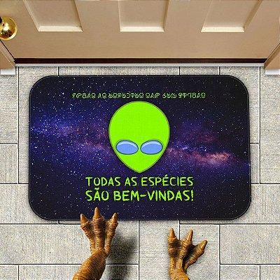 Tapete ET Alienígena Todas as Espécies são Bem-Vindas