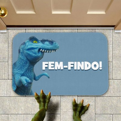 Tapete Decorativo MEME Dinofauro Fem-Findo