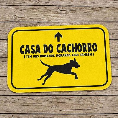Tapete Decorativo Casa do Cachorro
