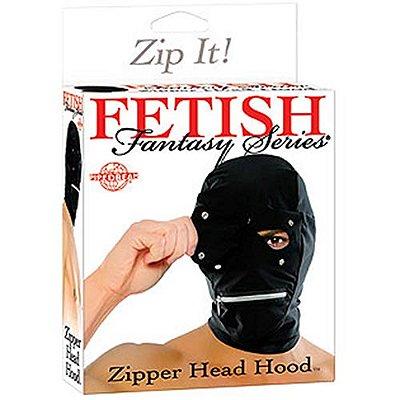 Capuz com Zipper Head Hood