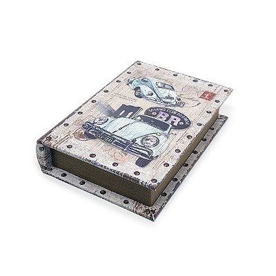 Caixinha Livro Decorativa Fusca - 18 x 13 cm