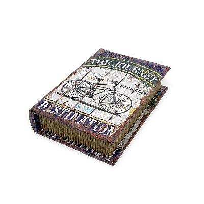 Caixinha Livro Decorativa Bicycle - 18 x 13 cm