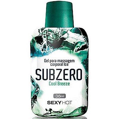 Gel para Massagem SubZero - Cool Breeze - 38ml