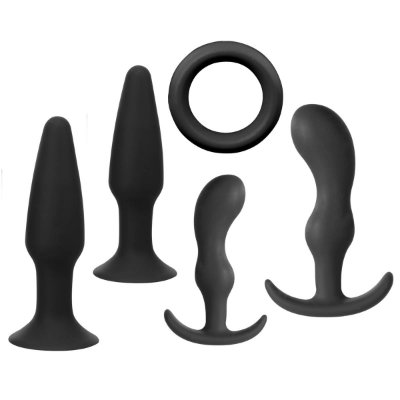 Kit Jovial 5 - 4 Plugs 1 Anel - silicone