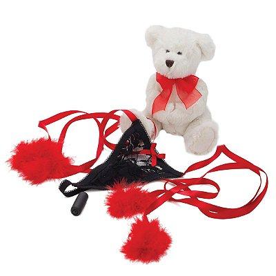 Calcinha com Vibrador - Romance Kit